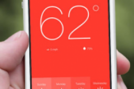 Sunshine – Simple Weather Forecast Is Lightweight And Stunning