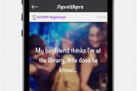 ShareWhere Is Your Anonymous, and Local, Facebook-Twitter Synthesis
