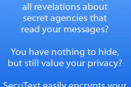 SecuText Allows For Easy and Secure Full Message Encryption